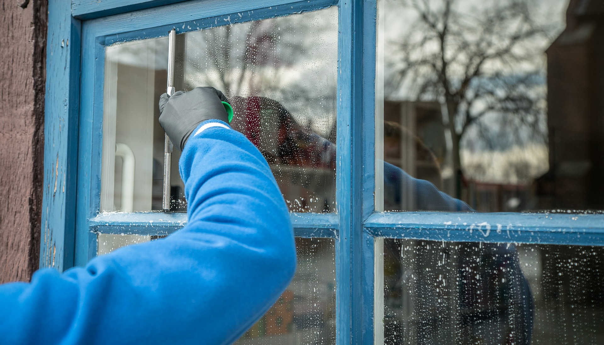 It is necessary to clean the windows of the office center as a contract. What is better to use - the forest or the cradle 56
